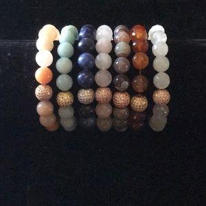Lot of seven Soul Journey Bracelets